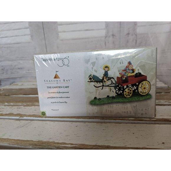 Dept 56 The Garden Cart 53327 Carriage Horse Seaso